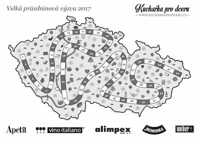 Mapa Velké prázdninové výzvy 2017 CB